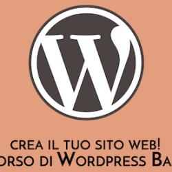 Corso wordpress a verona